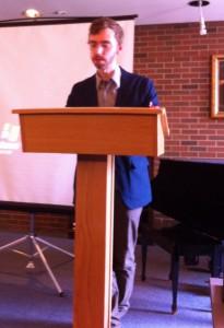 Dr. Martin Zeilinger delivers his Keynote Address